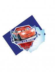 6 inbjudningskort med kuvert Bilar Ice Racers ™