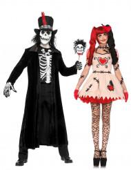 Voododocka & Witch doctor - Maskeraddräkt för par