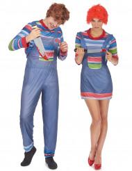 Duo med killerdockor - Halloweenkostym för par