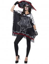 De dödas dag - Maskeradkit för vuxna till Halloween