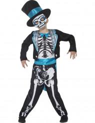 Mister Skelett - Halloweenkostym för barn