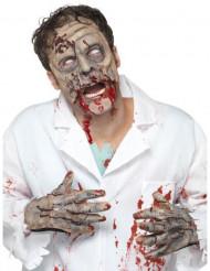 Zombiens ansikte och händer- Kit till Halloween