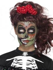 Zombie sminkset för Dia de los muertos