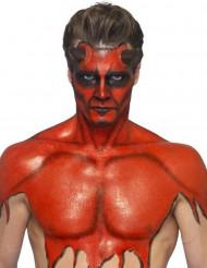 Röd flytande latex med svamp 59 ml