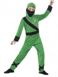 Gröna Ninjan - Maskeraddräkt för barn