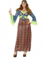 Hippie flower power - utklädnad för vuxen