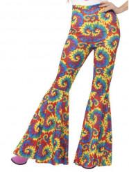 Hippiebyxa i flera färger dam