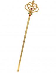 Guldfärgad trollstav för vuxna och barn