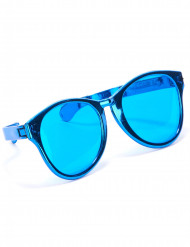 Jätteglasögon i blått för vuxna