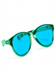 Gröna jätteglasögon för vuxna
