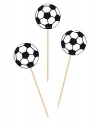 20 cocktailpinnar med fotbollar