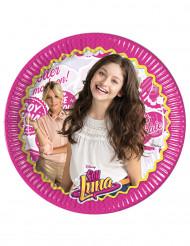 8 papperstallrikar Soy Luna™ 23 cm