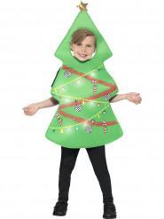 Julgransdräkt för barn med ljus