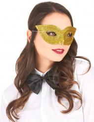 Guldfärgad venetiansk ögonmask för vuxna