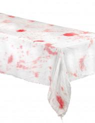 Duk med blodfläckar