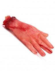 Blodig avskuren hand till Halloween