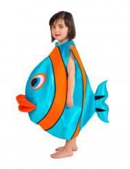 Blå fiskdräkt - barn