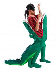 Pirat slukad av krokodil - utklädnad vuxen