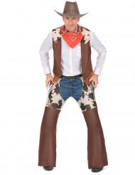 Austin - Cowboydräkt för vuxna till temafesten