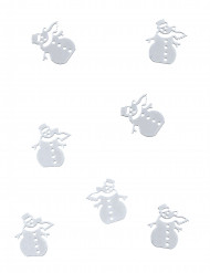 Snögubbskonfetti till juldukningen 10g