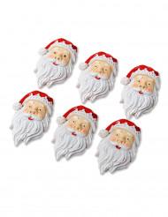 6 Julgubbar 4 cm med klister