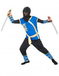 Blå ninjadräkt för barn