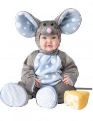 Musdräkt i grått bebis - Premium