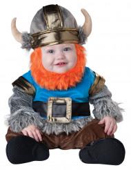 Vikingdräkt med skägg bebis - Premium