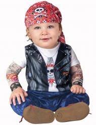 Kostym Mini MC-kille bebis - Premium
