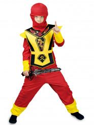 Eldig ninja - Maskeraddräkt för barn