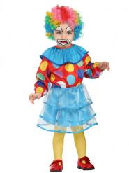 Clown med tylllkjol - Maskeraddräkt för bebisar