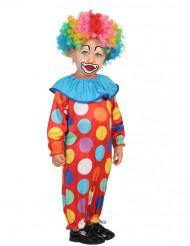 Liten Prickig Clown Maskeraddräkt Spädbarn