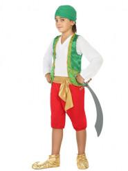 Kostym med inspiration tusen och en natt, prins av Arabien