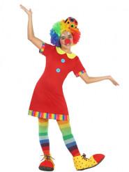 Röd Clownklänning Maskeraddräkt Barn