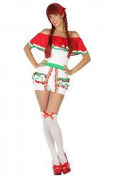Kostym med shorts med mexikanskinspiration