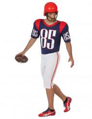 Kostym som amerikansk fotbollsspelare herrar