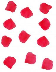 150 röda tyg blomblad