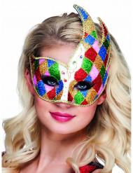 Färggrann till karnevalen - Venetiansk mask