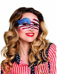 Miss America paljettmask dam
