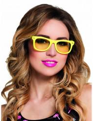 Gula coola solglasögon för vuxna