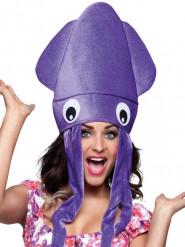 Bläckfisk - Hatt för vuxna till maskeraden
