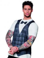 T-shirt tatuerad hipster herrar