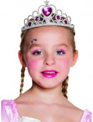 Prinsesstiara för barn till maskeraden