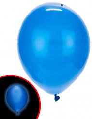5 blå LED ballonger Illooms ®