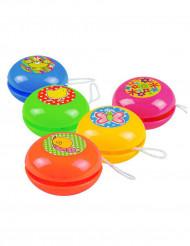 5 mini jojoer i färgglada färger