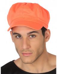 Neon-orange keps vuxen