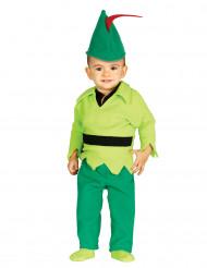 Kostym som liten skogsman bebis