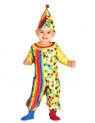 Clownoverall Maskeraddräkt Spädbarn