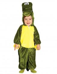 Grön Krokodil Maskeraddräkt Bebisar