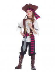 De Sju Havens skräck - Piratmaskeraddräkt för barn